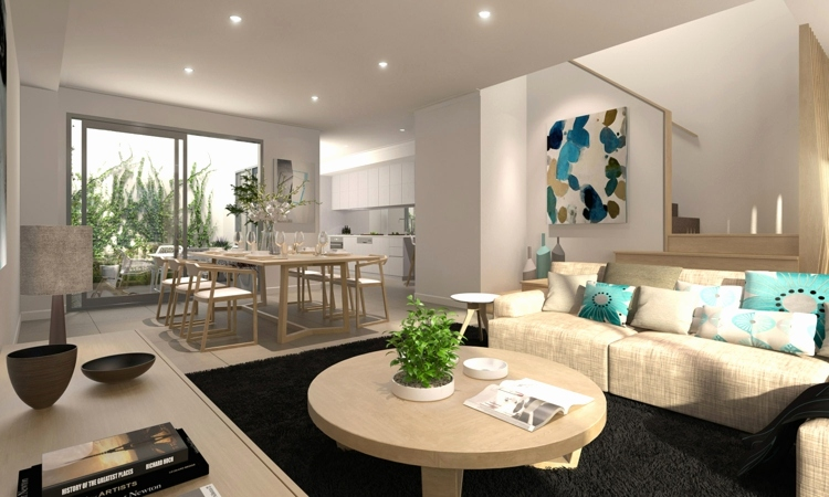 salle a manger cocooning New Idee Amenagement Petit Salon Salle A ...